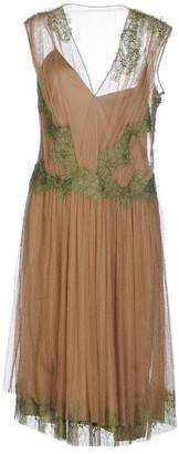 Alberta Ferretti 3/4 length dress