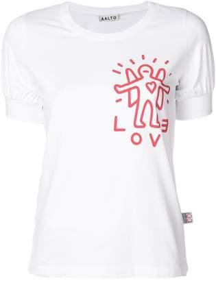 Aalto angel print T-shirt