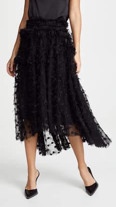 Jourden Twinkle Tulle Midi Skirt