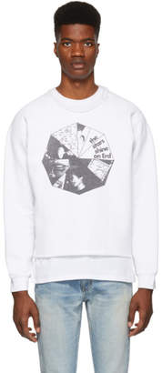 Enfants Riches Deprimes White Erd Sweatshirt