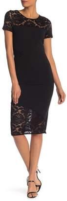 Rachel Roy Jamie Lace Panel Dress