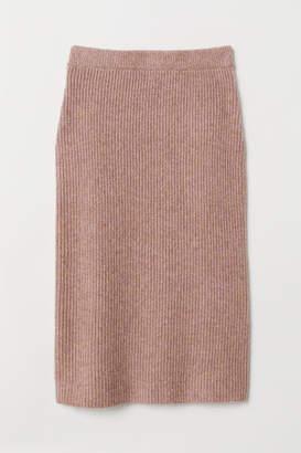 H&M Knit Skirt - Pink