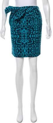 Lanvin Jacquard Mini Skirt w/ Tags