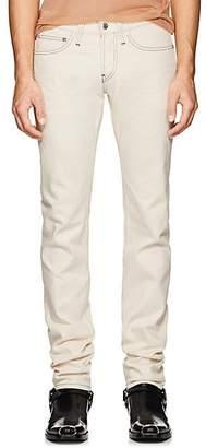 Helmut Lang Men's Low-Rise Skinny Jeans - White