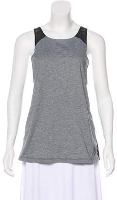 Nike Mesh-Trimmed Sleeveless Top