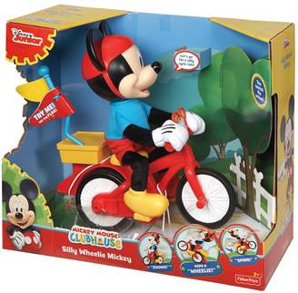 Fisher-Price Disney's Mickey Mouse Clubhouse Silly Wheelie Mickey by