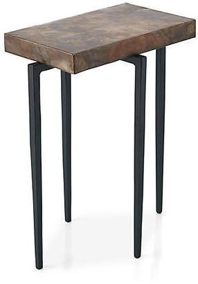 Global Views Laforge Side Table - Copper