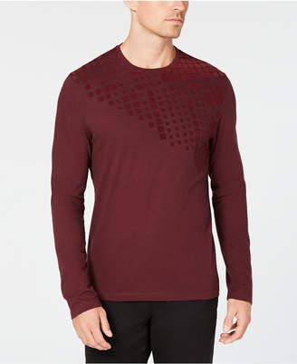 Alfani Men's Flocked T-Shirt
