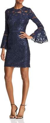 Tadashi Shoji Bell-Sleeve Lace Dress - 100% Exclusive