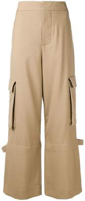 Marni high-waisted cargo trousers