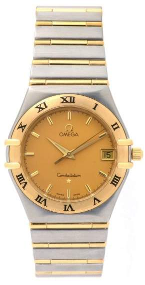 OmegaOmega Constellation 1212.10.00 Two Tone 18K/Stainless Steel Quartz 33mm Mens Watch