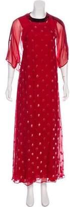 Valentino 2017 Embroidered Dress