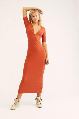 Lulu Fp Beach Henley Midi Dress