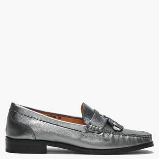 9a175e8fa69 Näsby Df By Daniel Pewter Leather Tassel Loafers