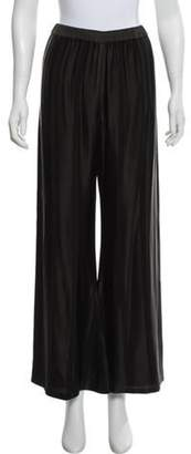 Alexis High-Rise Wide-Leg Pants Black High-Rise Wide-Leg Pants