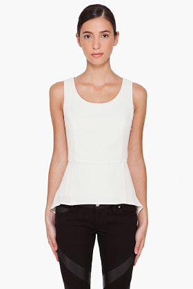 Rag and Bone RAG & BONE Ivory Jett Blouse