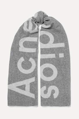 Acne Studios Toronto Intarsia Wool-blend Scarf