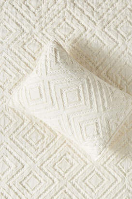 Anthropologie Tufted Chevron Toddler Sham
