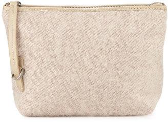 Kelsi Dagger Commuter Felt Evening Clutch Bag, Natural/Multi $65 thestylecure.com