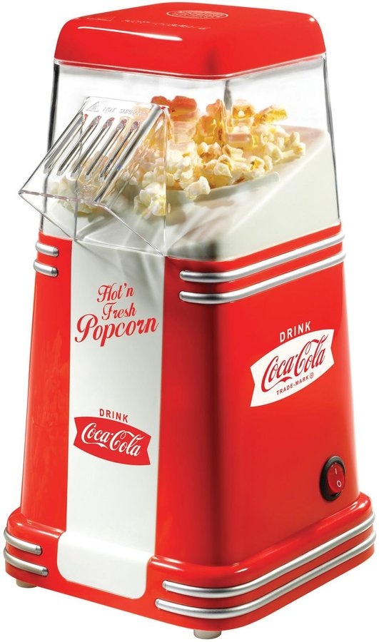 Nostalgia Electrics Coca-Cola Series Mini Hot Air Popcorn Popper - Red