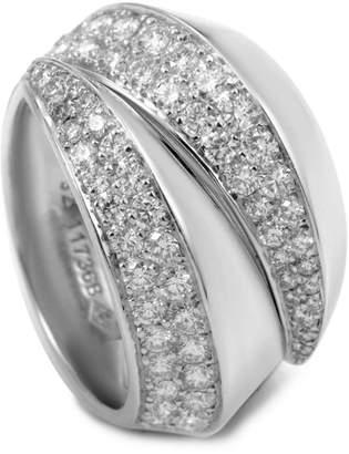 Cartier Heritage  18K 1.60 Ct. Tw. Diamond Arc Ring With Original Box