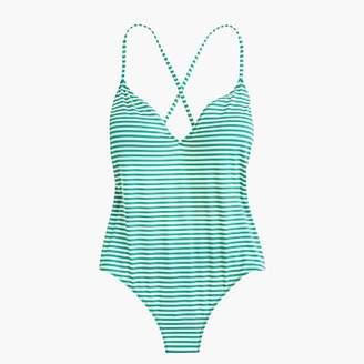 J.Crew Playa Key West printed X-back one-piece swimsuit