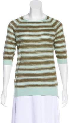 A.L.C. Wool Short Sleeve Top