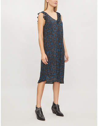 Zadig & Voltaire Rebelle leopard-print dress