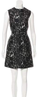 Balenciaga Patterned Sheath Dress