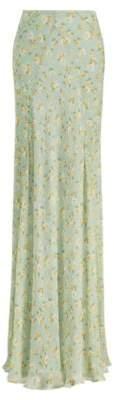 Ralph Lauren Jacqueline Chiffon Skirt Mint Multi 4