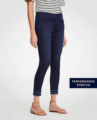 Ann Taylor Petite Modern Fringe All Day Skinny Crop Jeans