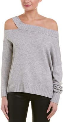 Vince Off-The-Shoulder Wool & Cashmere-Blend Sweater