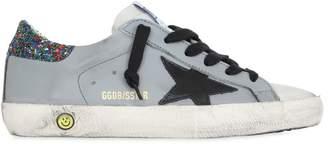 Golden Goose Super Star Glitter Leather Sneakers