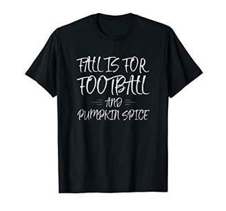 Fall and Football Pumpkin Spice Shirt