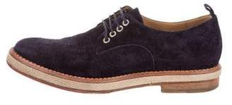 Christian Louboutin Suede Derby Shoes