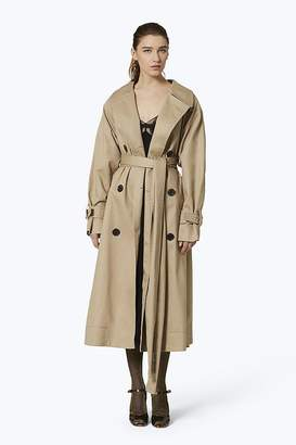 Marc Jacobs Oversized Cotton Trench Coat