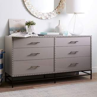West Elm Nailhead 6 Drawer Dresser