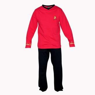 Factory Robe Star Trek Adult Officer Uniform Pajama Set