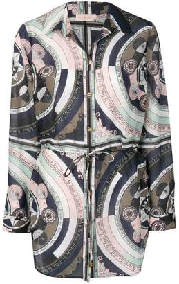 Tory Burch abstract print tunic shirt