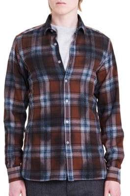 Lanvin Fitted Casual Button-Down Shirt