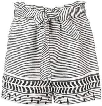 Lemlem Maya embroidered shorts
