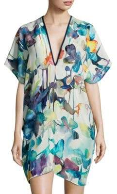 Shan Lily Rose Silk Coverup