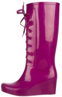 be87519a6c6 Saint Laurent Knee-High Rain Boots