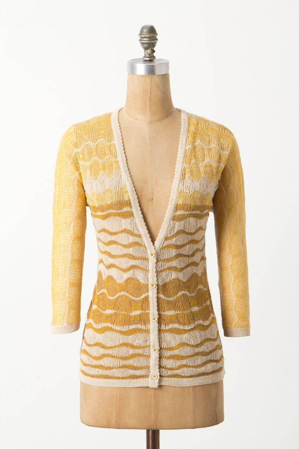 Anthropologie Ombre Breakers Cardigan