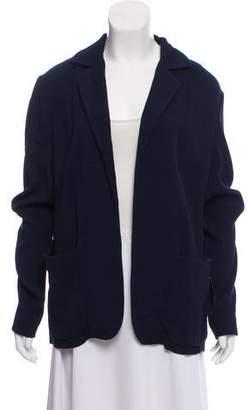 Marni Notch-Lapel Striped Blazer