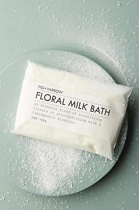 Fig + Yarrow Floral Milk Bath Packet