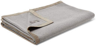 Loro Piana Suede-Trimmed Baby Cashmere-Blend Blanket