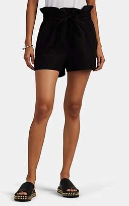 IRO Women's Smac Cotton Shorts - Black Size 40