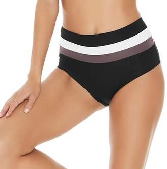 L-Space L Space Portia Stripe Bikini Bottom - Women's