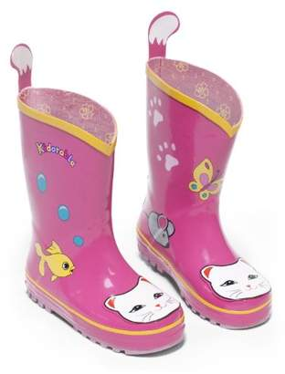 Kidorable Lucky Cat Rainboots